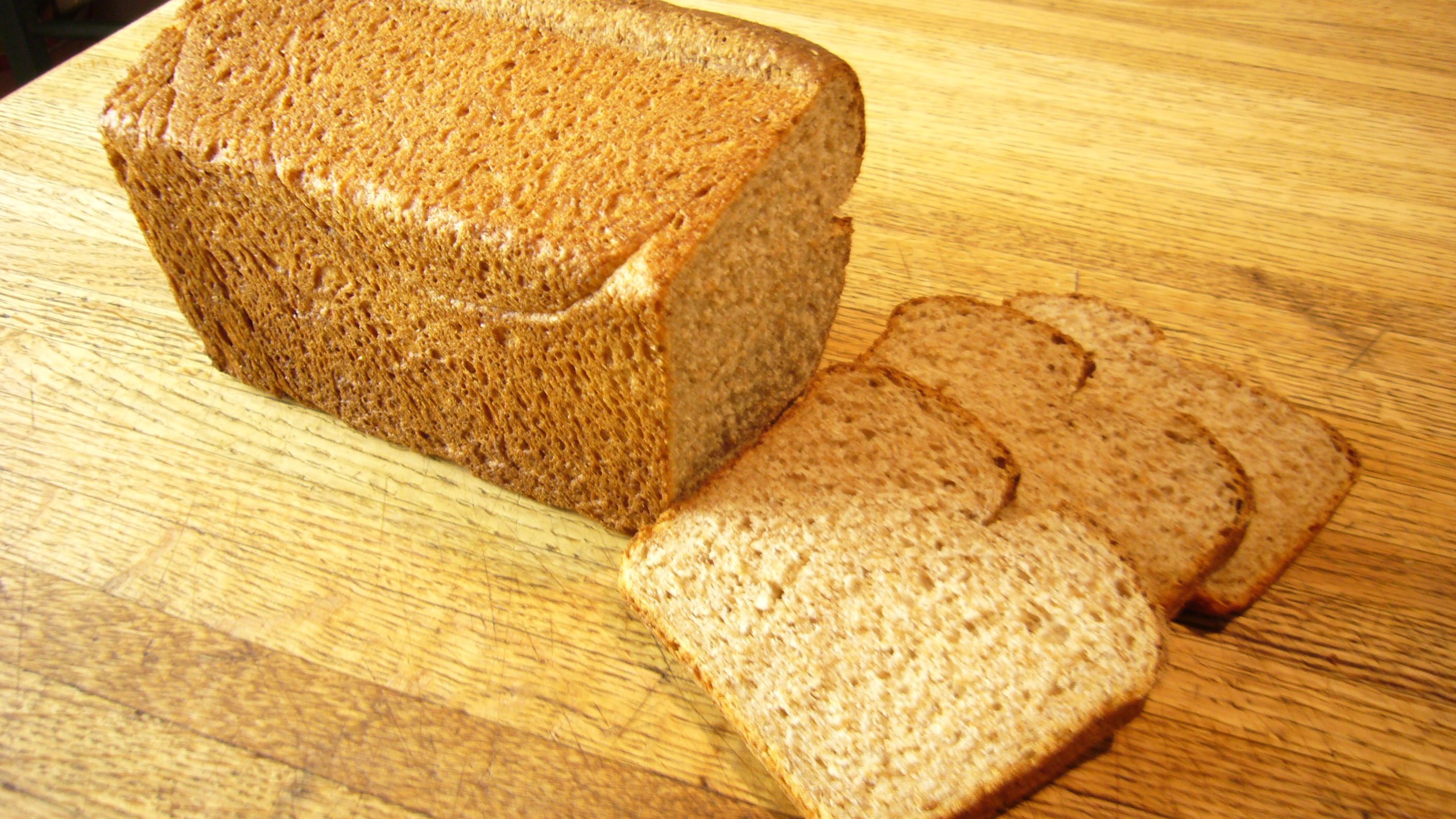 Blog #12 – Whole Wheat Sandwich Bread
