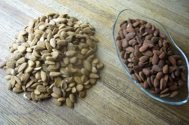 Almonds Raw and Roasted