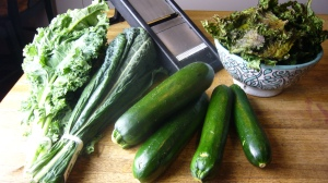 Zucchini and Kale