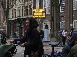 Amsterdam Warnimg